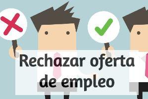 Como rechazar una oferta de empleo destacada